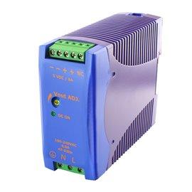 Fuente de alimentación DRA18-12A. Monofásica para carril DIN
