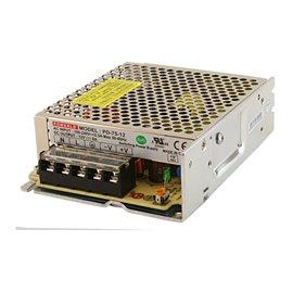 Enclosed panel 75W, 24V power supply