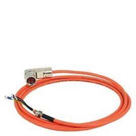6FX3002-5CL01-1AD0 - cable potencia confeccionado 6fx3002-5cl01 4x1,5-for motor s-1fl6 hi 400v con v70/v90 frame aa and a motion