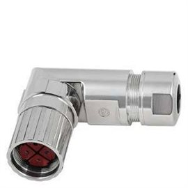 6FX2003-0LL11 - power connector 6fx2003-0ll11 for connection to s-1fl6 hi 4-poles insulator-union nut 4 x socket contact (1- 25
