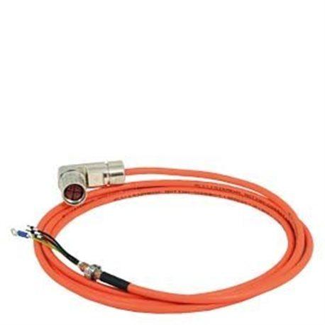 6FX3002-5CL11-1AD0 - cable potencia confeccionado 6fx3002-5cl11 4x2,5 para motor s-1fl6 hi 400v con v70/v90 frame b und c motion