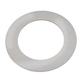 Downlight LED ,silver, Ø115mm, daylight white