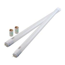 Tubo LED 60cm blanco cálido