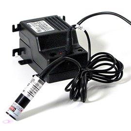 Puntero Láser rojo 1mW 3-5 VDC IP40 45mA Cruz Débil