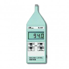 Sonómetro digital 130 dB con salida analógica AC/DC