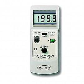 Calibrador de voltaje / corriente