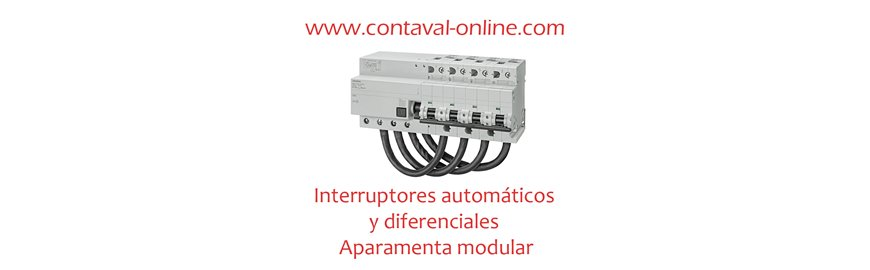 Interruptores autom ticos y diferenciales aparamenta - Interruptores y enchufes baratos ...